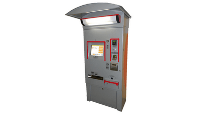 Stationary Ticket Machine